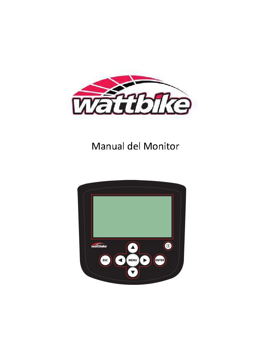 Manual del Monitor Wattbike