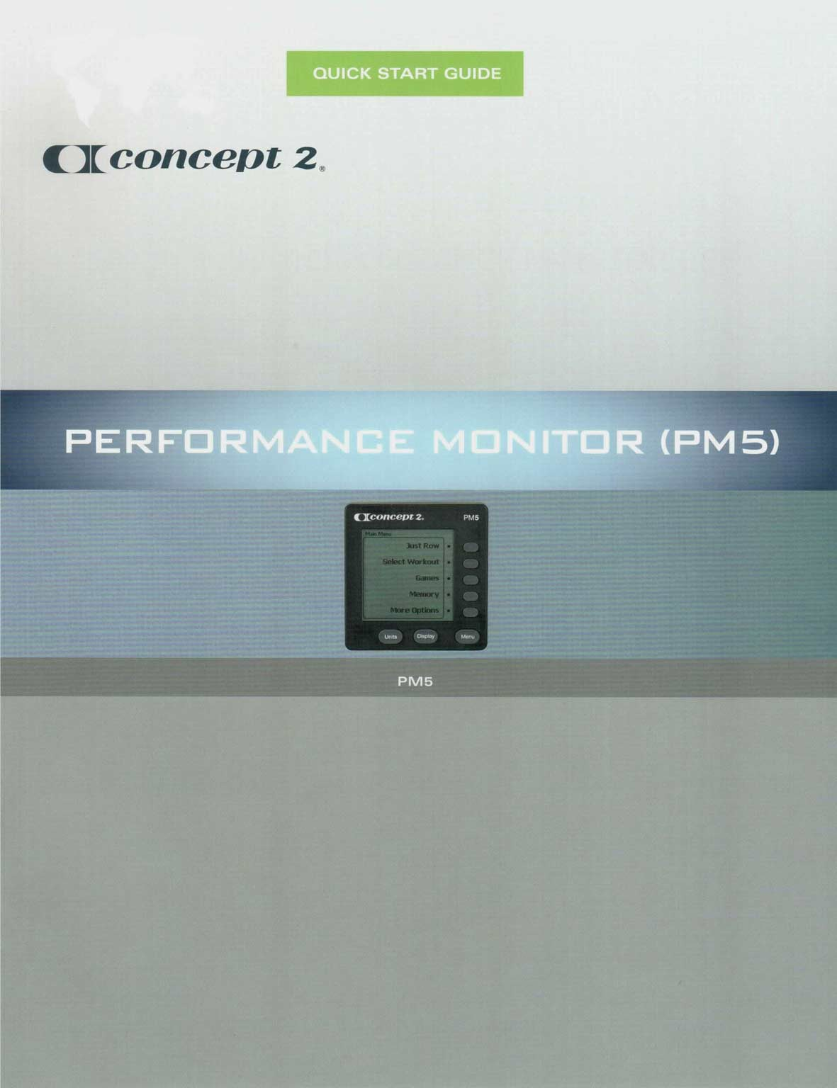 Descarga el Manual del Monitor de Rendimiento PM5 en pdf